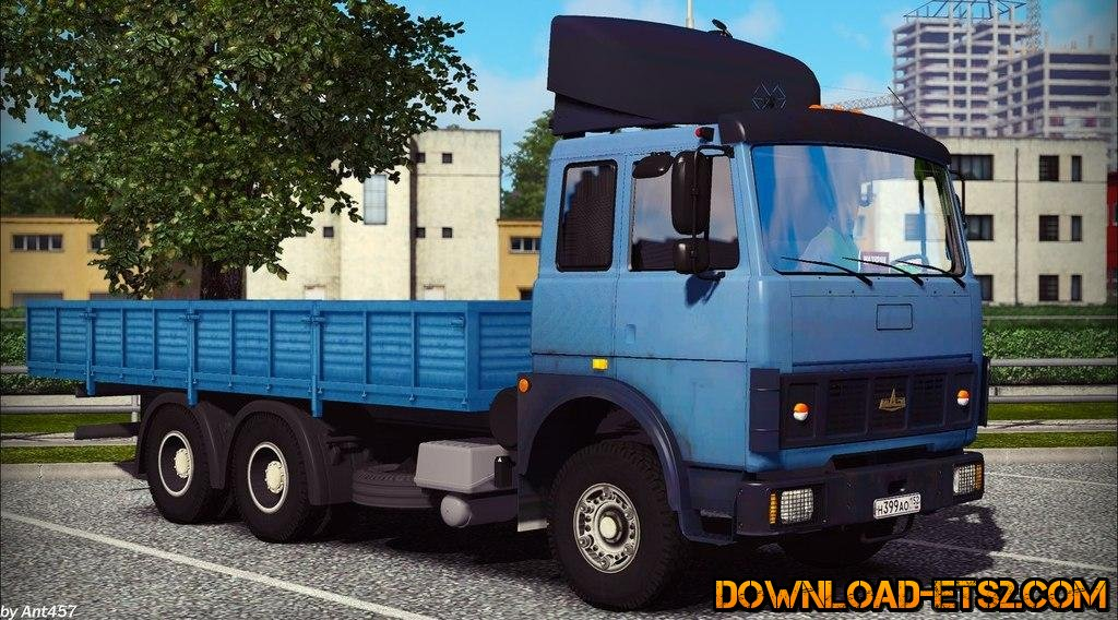 MAZ 5432 for ETS2 v1.16