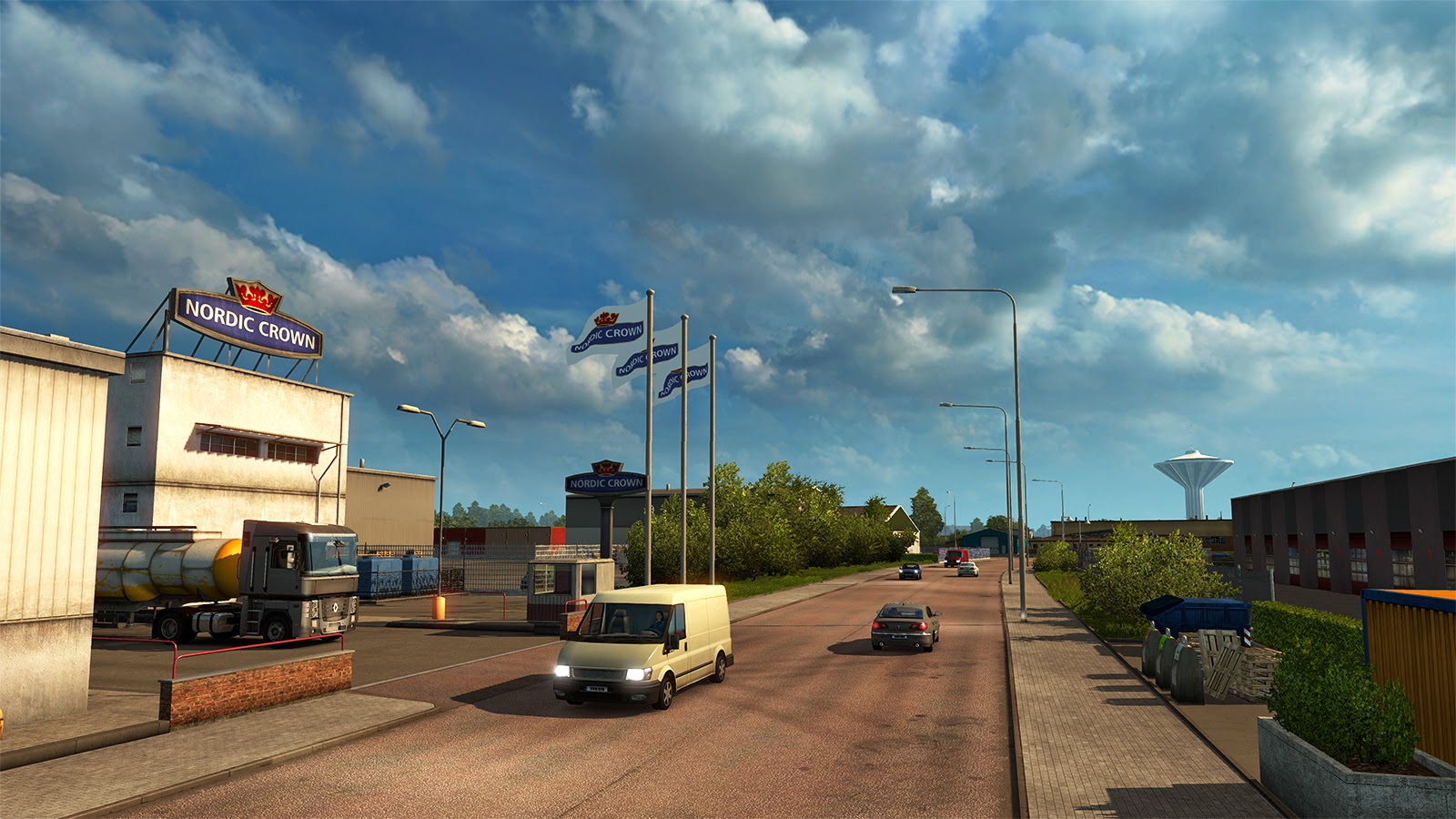 New images with Örebro city from DLC Scandinavia