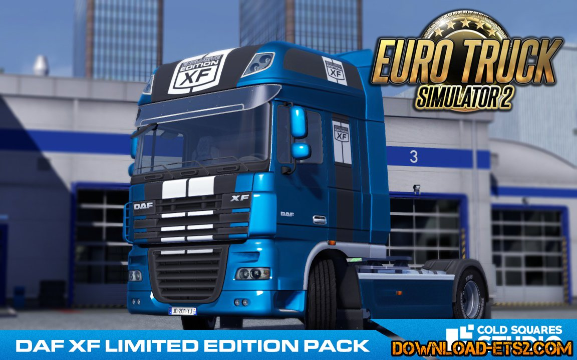 DAF XF LIMITED EDITION HD PACK (Metallic) by Sebek