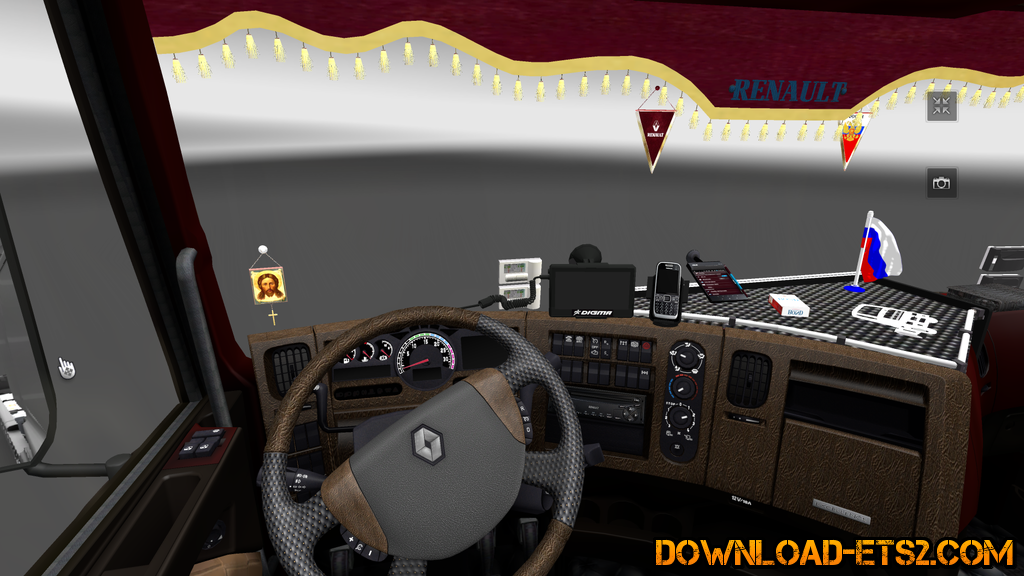 Interior for Renault Premium Truck by daf1