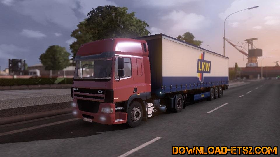 DAF CF 85 v.2.0 for ETS 2  v1.16.2