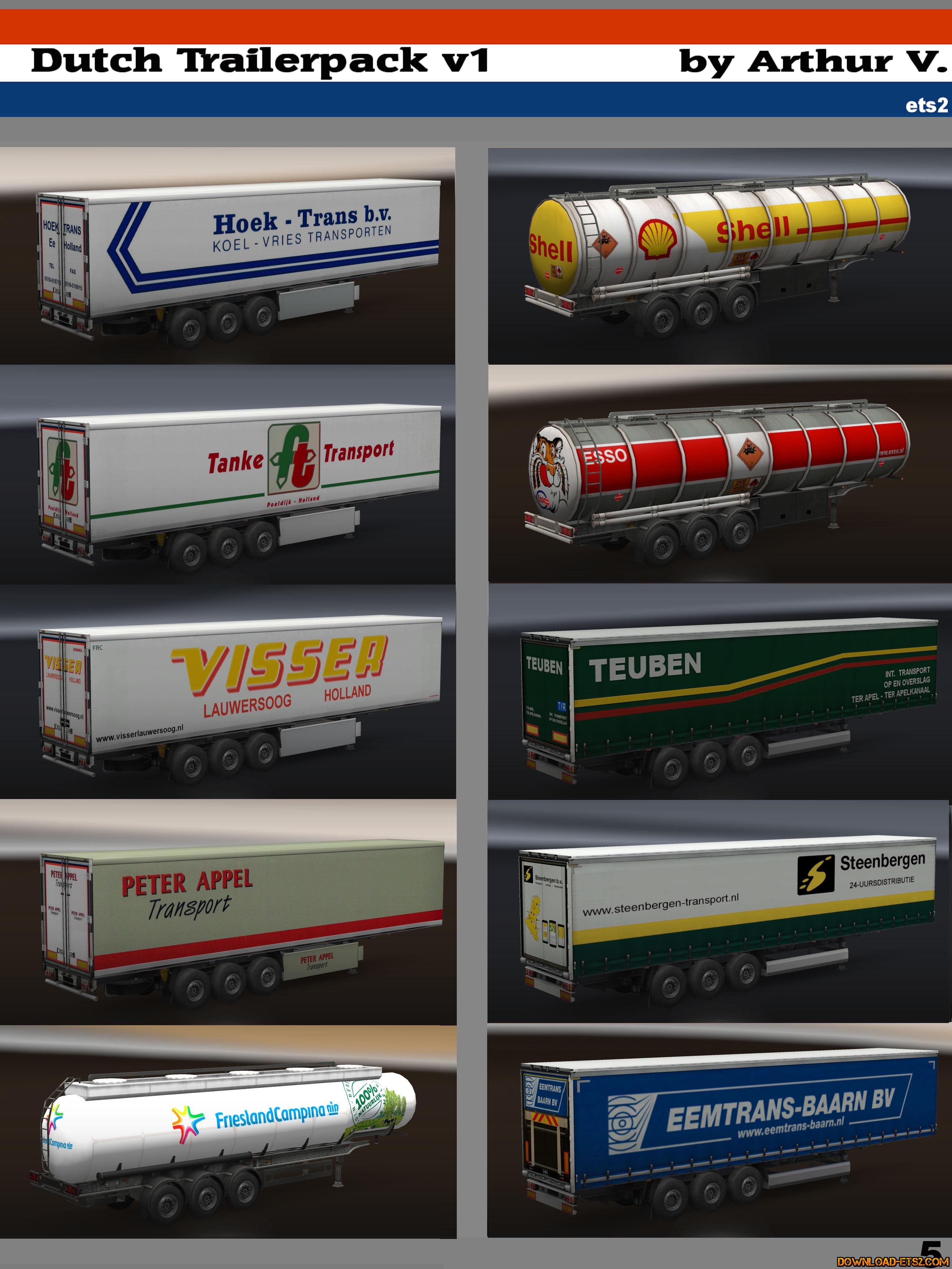 Dutch Trailerpack v.1 by Arthur V