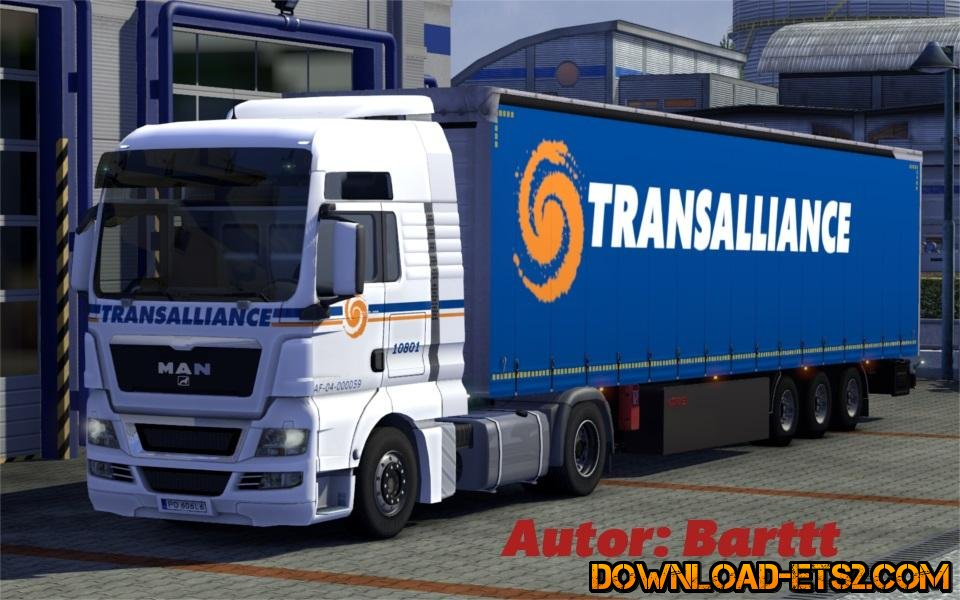 TRANSALLIANCE MAN + KOGEL MAXX for ETS2
