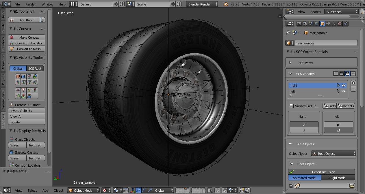 SCS Blender Tools - First Step » ETS2 mods, SCS mods, Euro