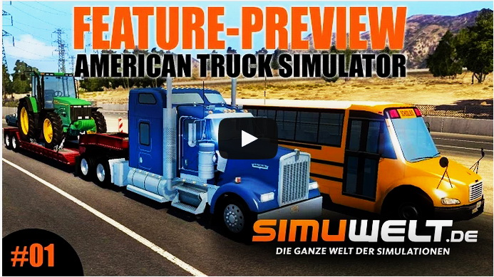 American Truck Simulator - Feature-Preview Video of Beta version