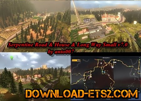 Serpentine Road & House & Long Way Small v7.0 by anto007
