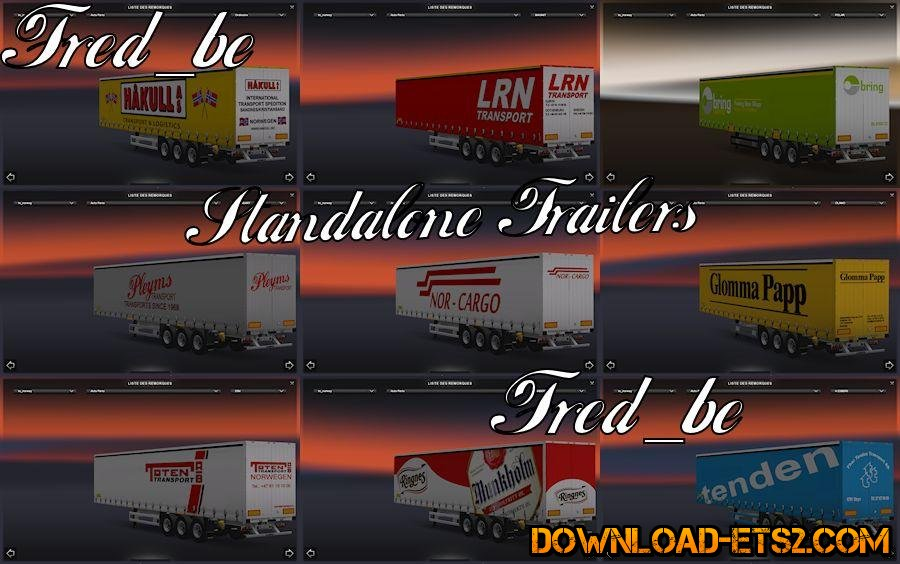 NORWAY TRAILERS PACK by Fred_be