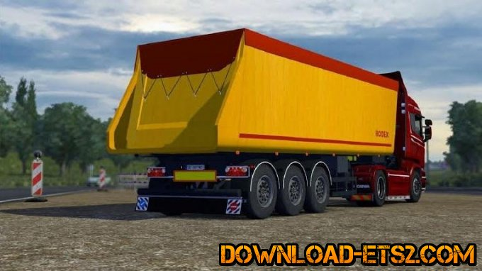 BODEX ANIMATION TRAILER for ETS2