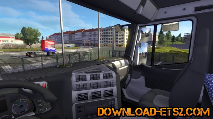 More realistic Stralis interior by Roudou