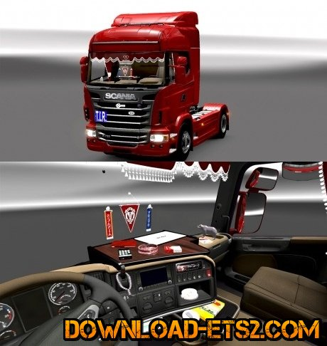 Scania Interior Highline Edit Fix by .SrqN.