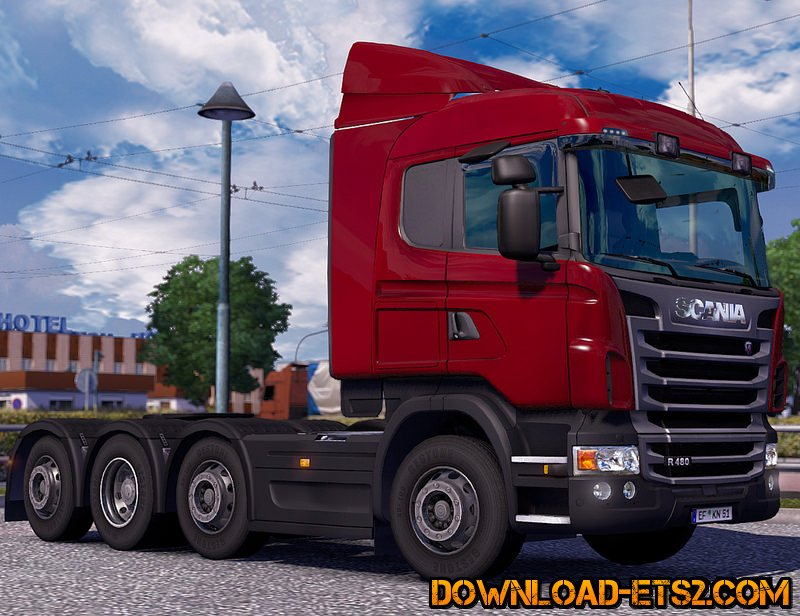 Scania R & Streamline Modifications v1.2 by RJL
