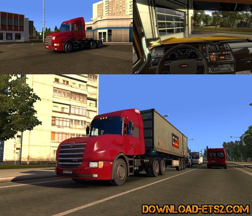 Ural 6464 RTA for ETS2