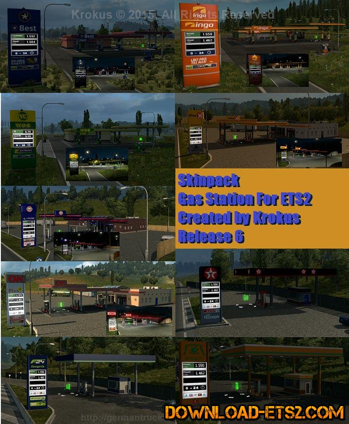 GAS STATIONS RELEASE 6 by krokus