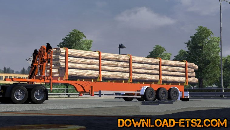 Trailer timber with animation by PhilO SopH