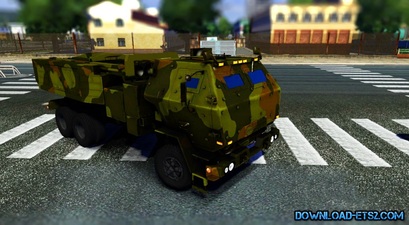 Iveco Military Truck mod for ETS 2