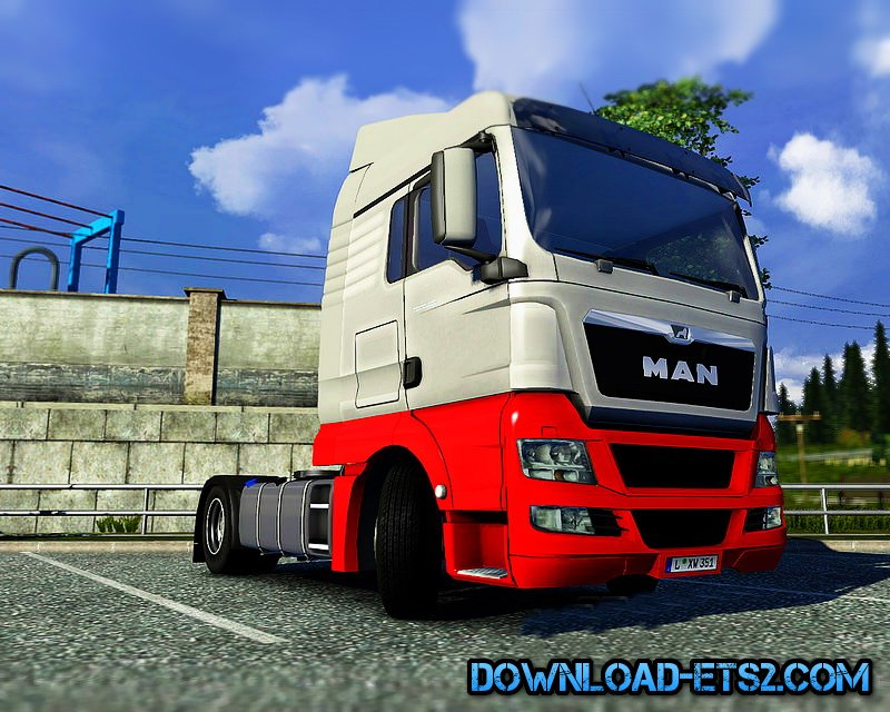 MAN TGX Reworked v1.2 by MADster