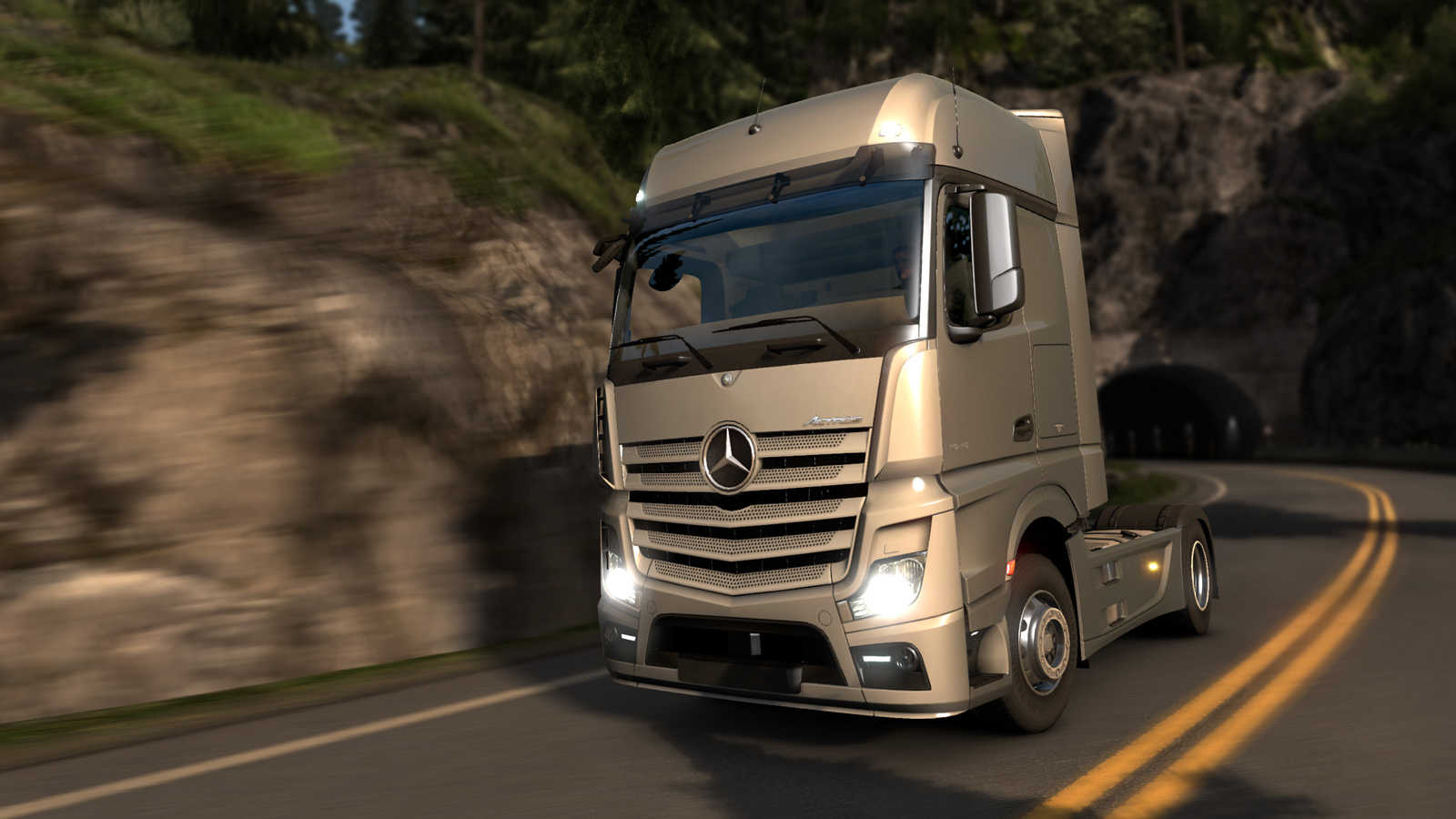 New Mercedes-Benz Actross MPIV by SCS Software