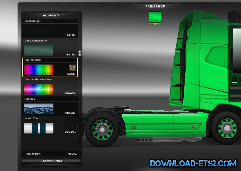 NEW AUTOCOLOR WHEELS for ETS2