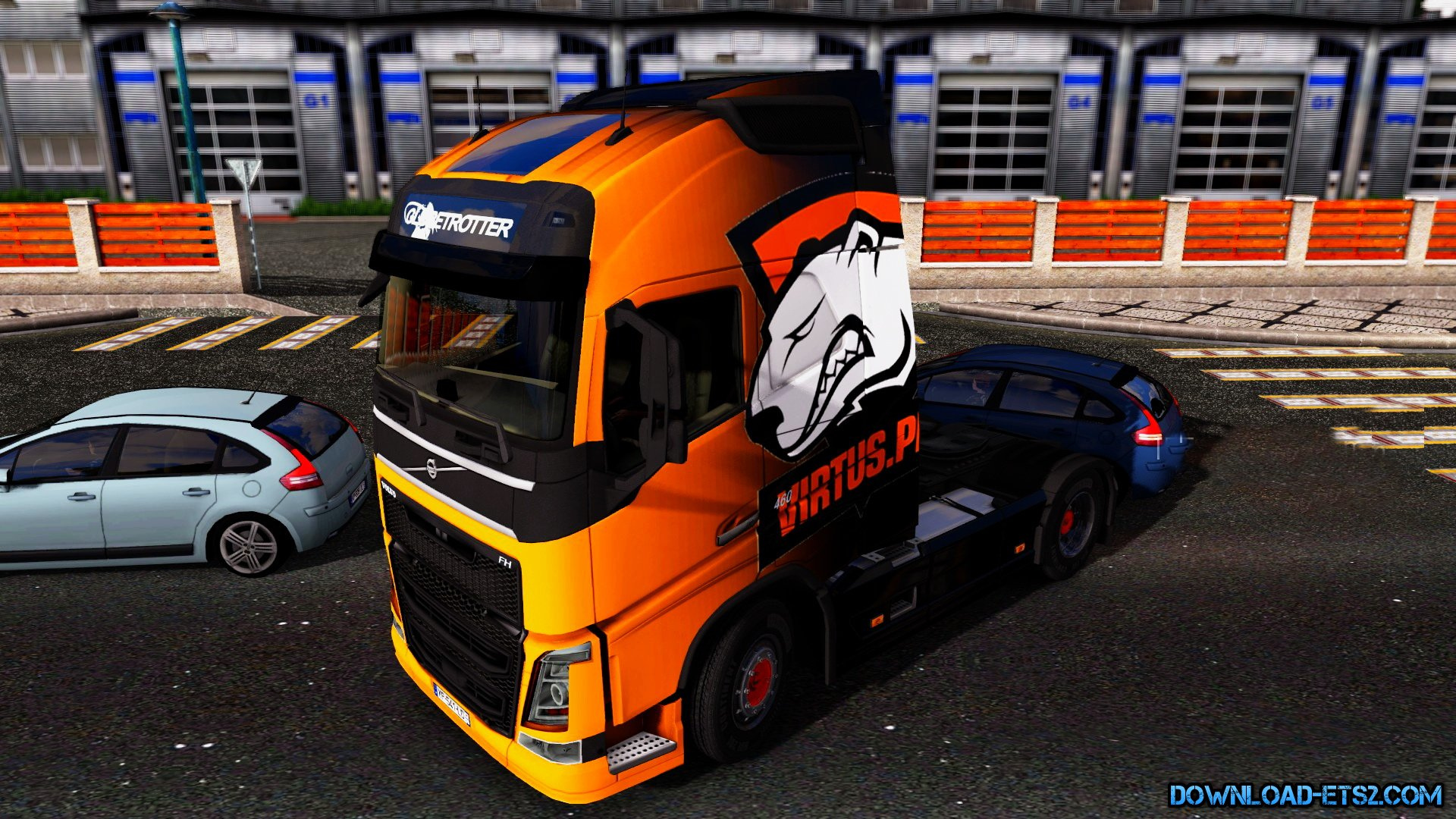 Virtus Pro Skin for Volvo FH 2012 by Antonella