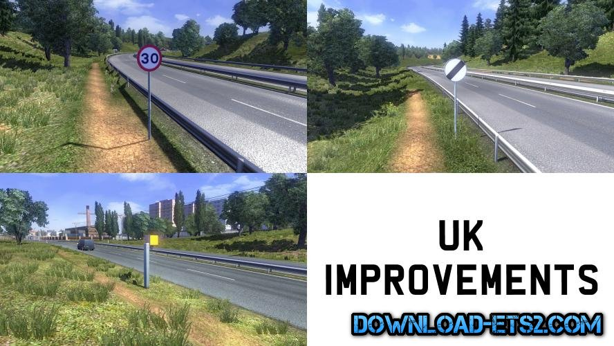 UK IMPROVEMENT MOD v2.0 by MinecraftMarioGuy53