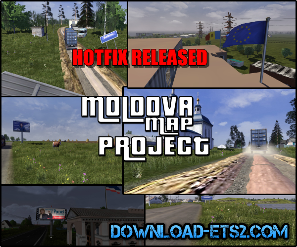 Republic of Moldova Map Project Hotfix #1 (v0.1 R2):