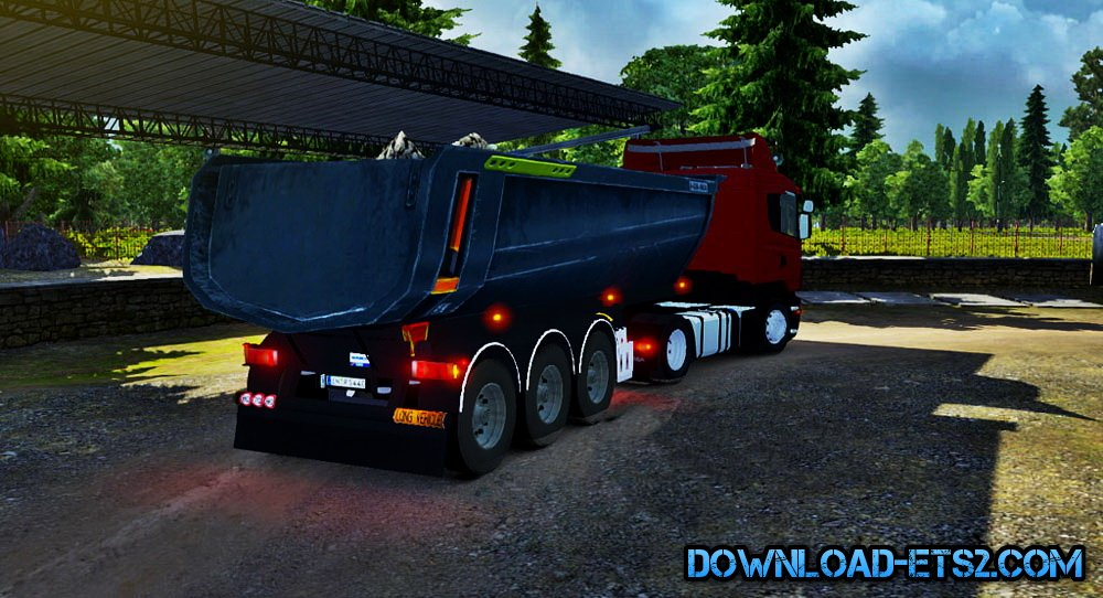 Pool Trailer for ETS2 v1.16.X