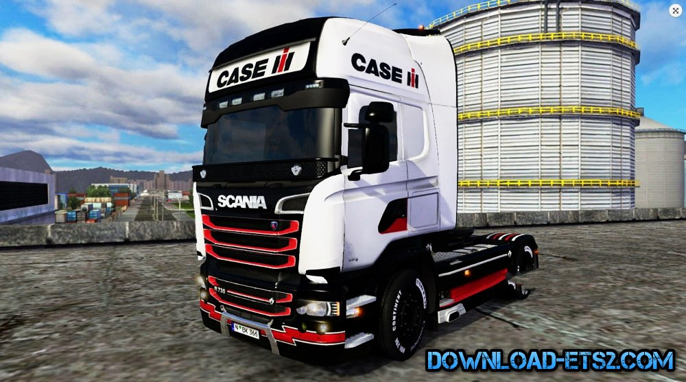Case IH Skin for Scania Streamline by BarbootX