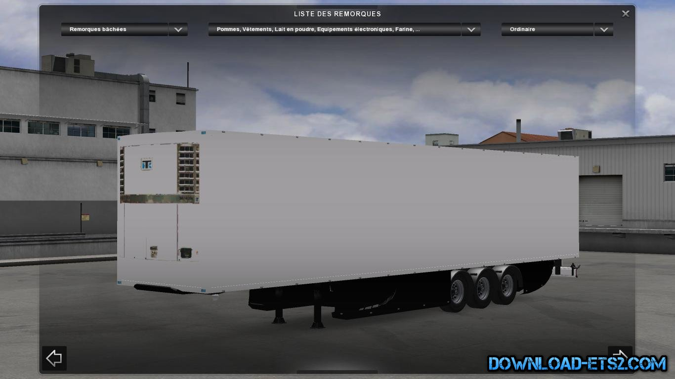 Trailer Profiliner Skinable by Vaay1999