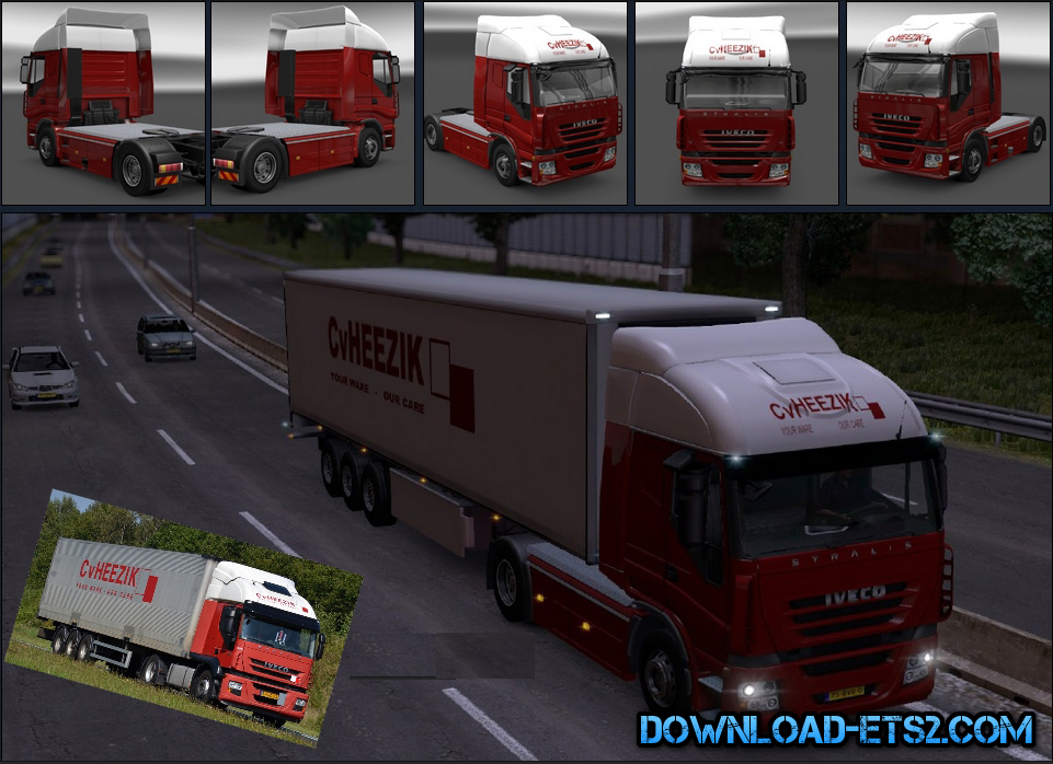 CV Heerik Combo Skin for Iveco Stralis by Priest
