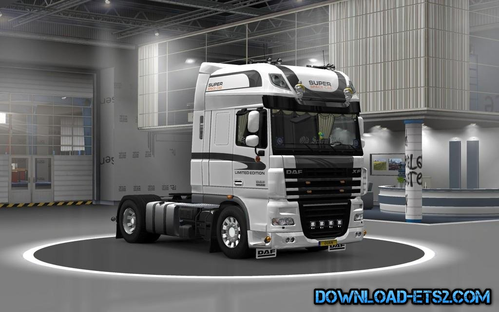 DAF XF 50KEDA LIMITED EDITION SKIN by OUAN