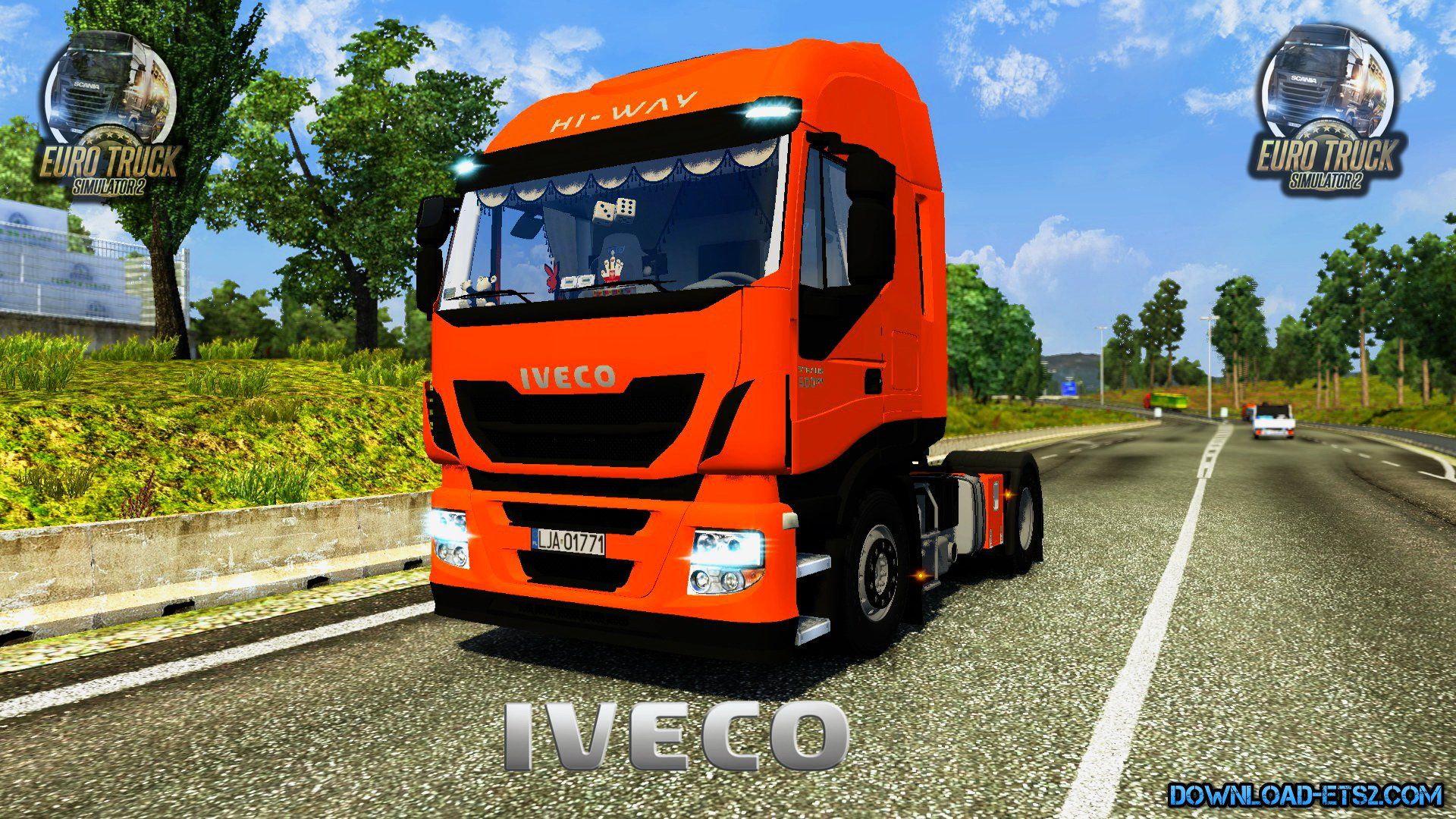Iveco Stralis Hi-Way 500EEV + Interior