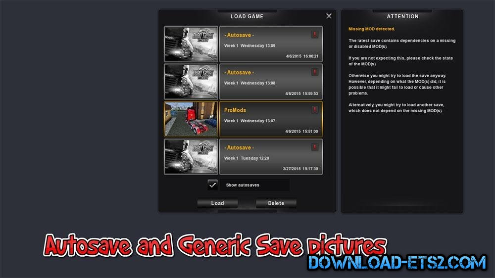 Autosave and Generic save Pictures by BLINKT