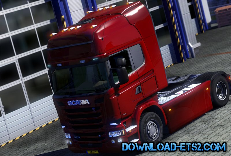 Rooflights V0.2 for Scania R & Streamline Modifications