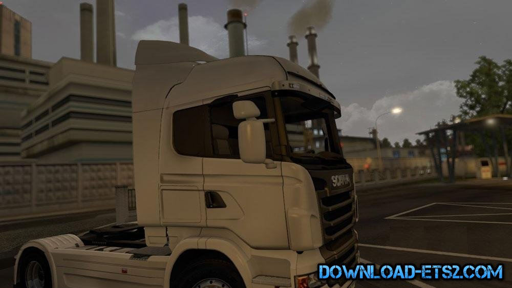 SCANIA R2009 HIGHLINE SPOILERS by leti7kedil