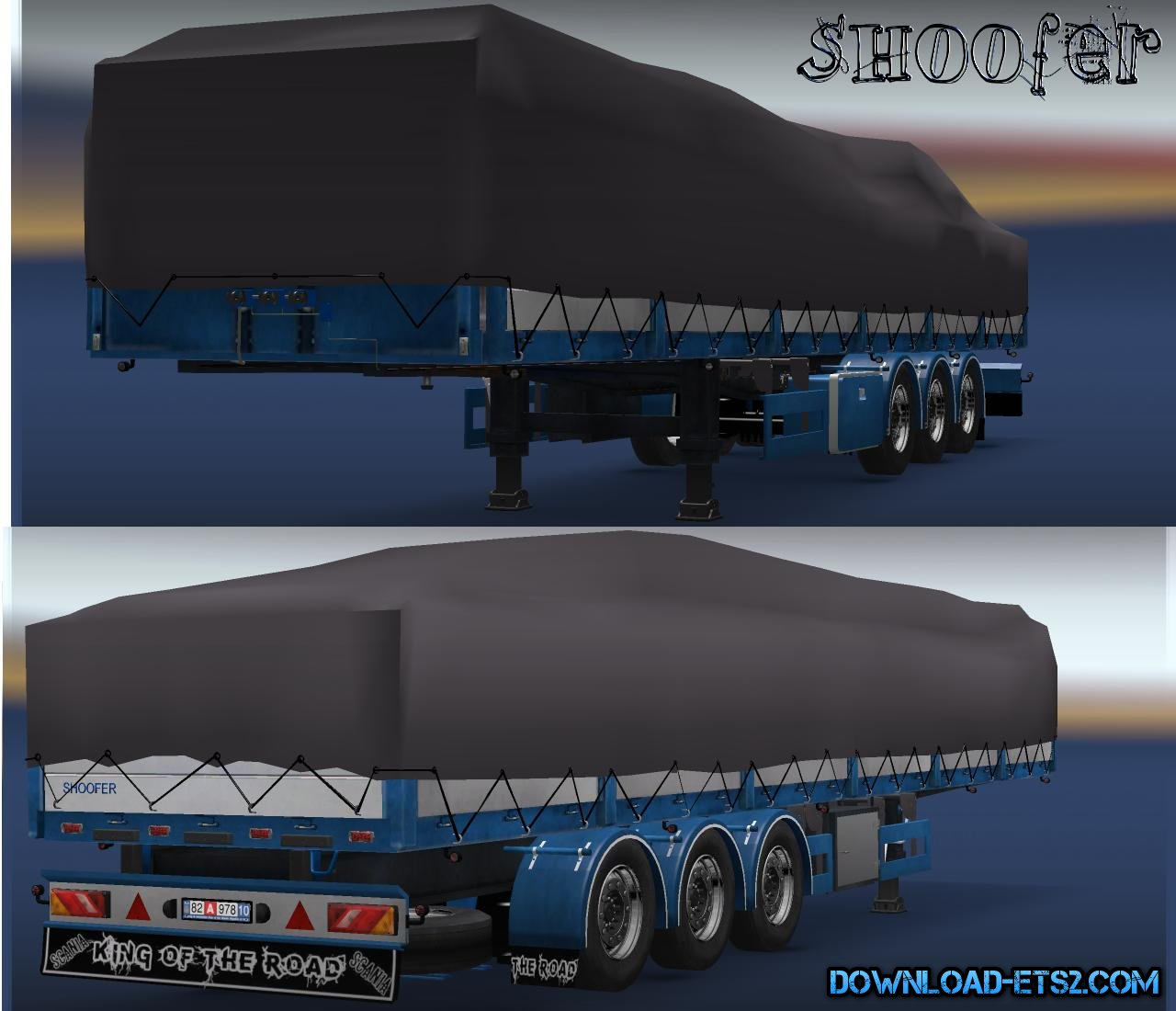 Brick Trailer by Shoofer