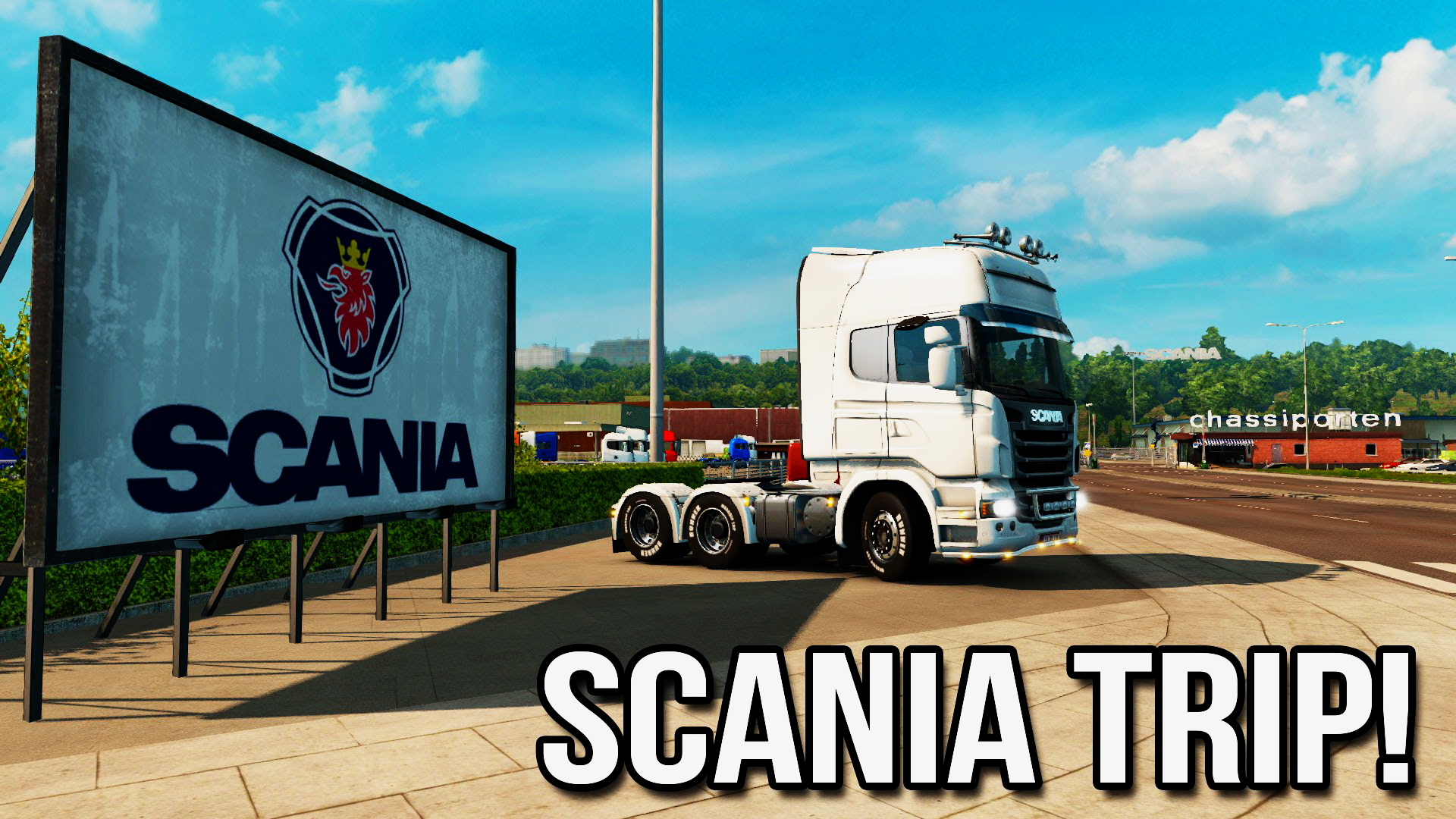 Scania Trip! - YETD and Scandinavian DLC