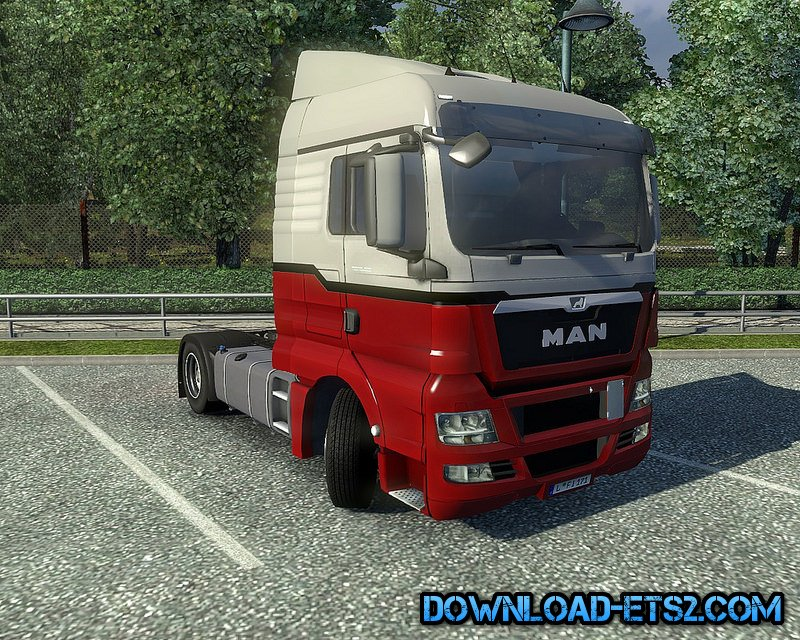 Man TGX Reworked v1.4 by MADster