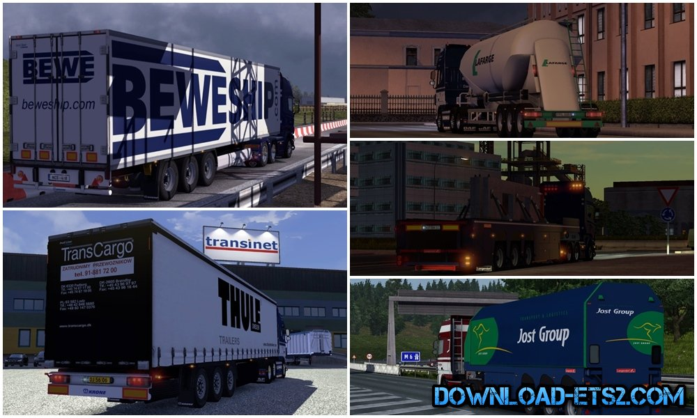 SCS Trailer Patch V1.1 by Bora
