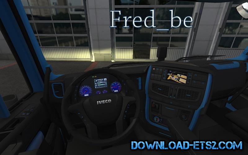 IVECO HI-WAY BLUE INTERIOR by Fred_be