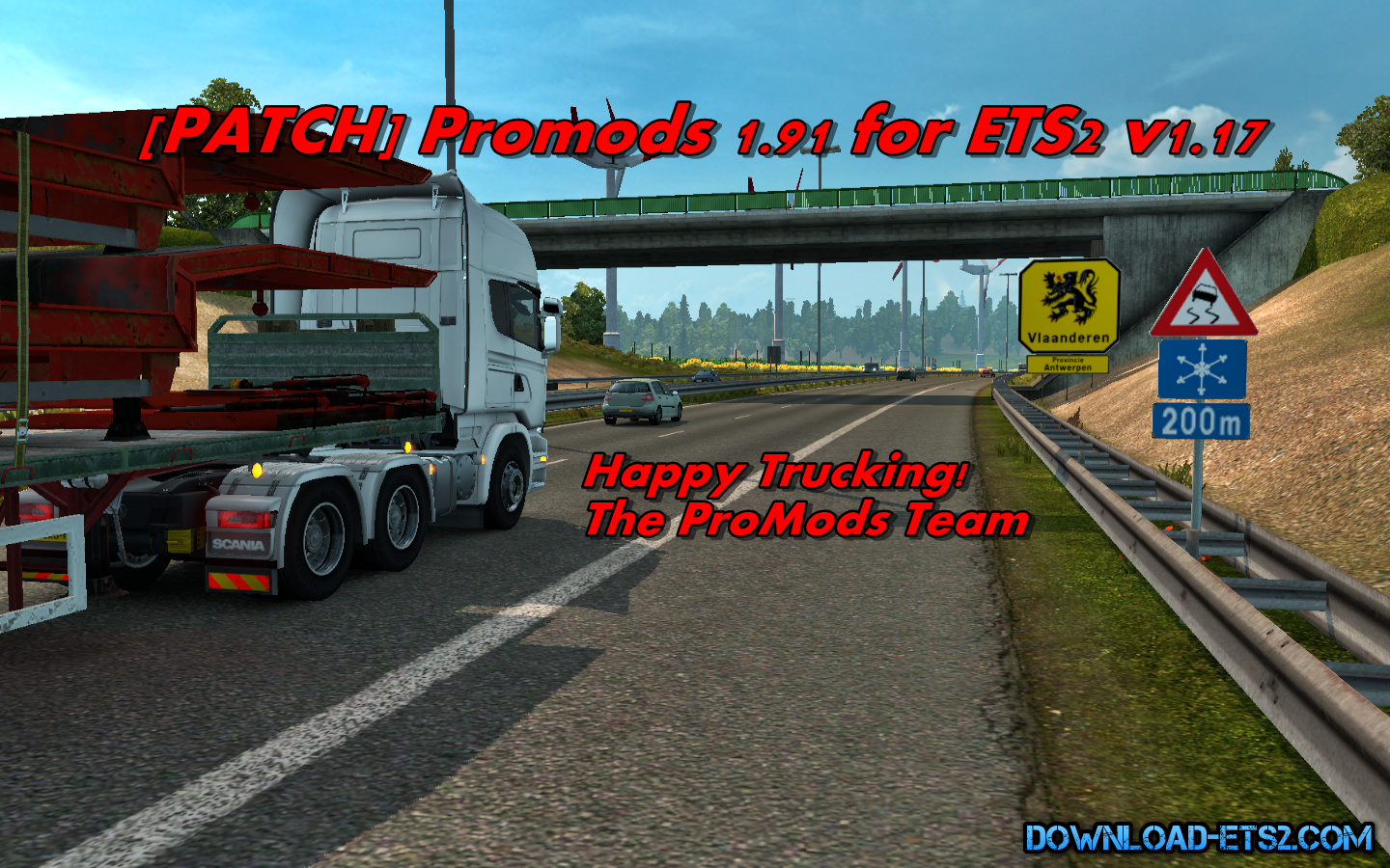 New patch for ProMods v1.91