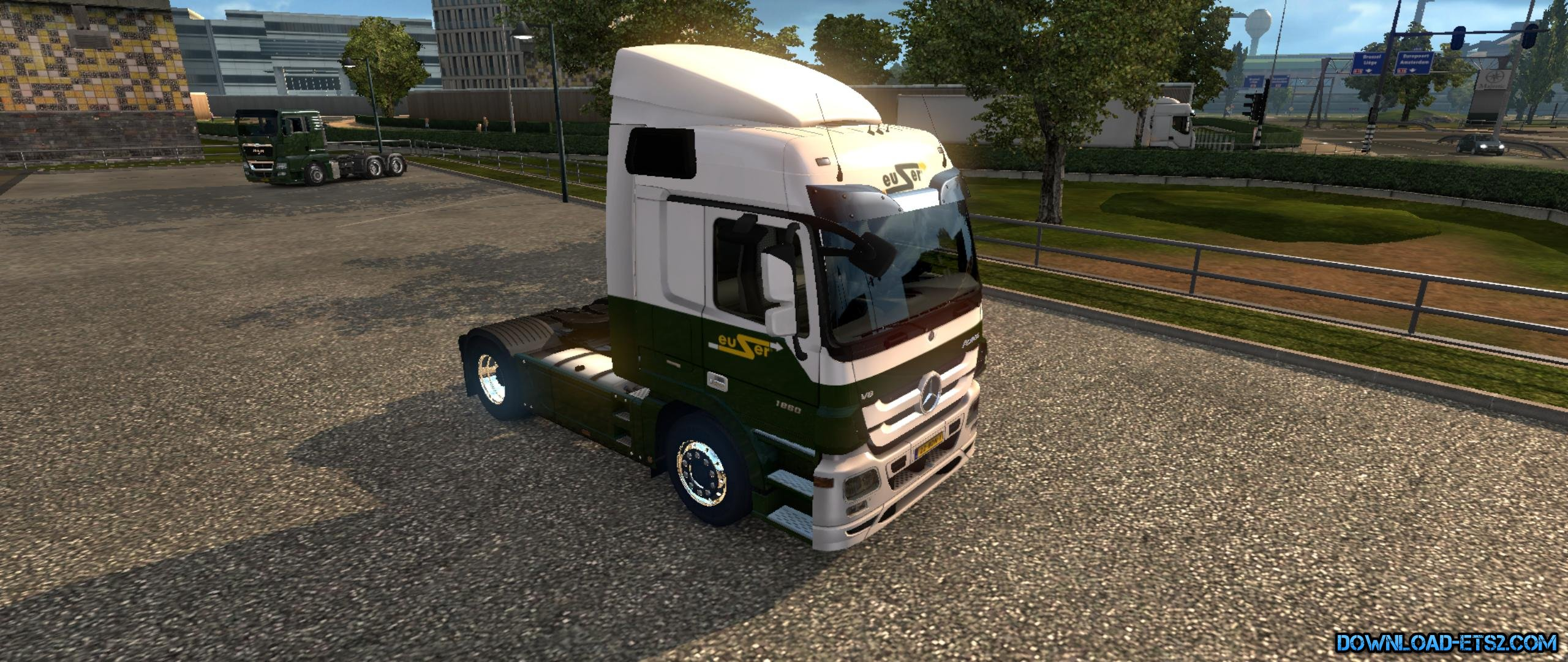 EUSER TRANSPORT SKIN for MERCEDES ACTROS