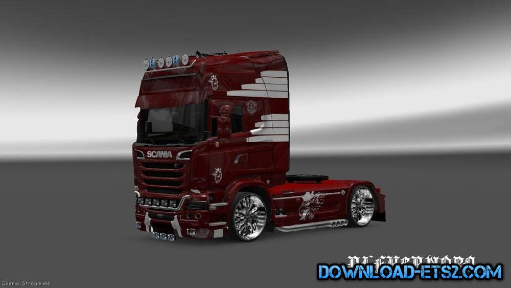 SCANIA STREAMLINE VAEX REEK HOLLAND SKIN by Aleksandro