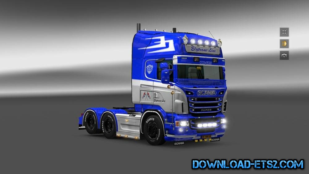 SCANIA ELY TRANS HOLLAND SKIN by #Borce