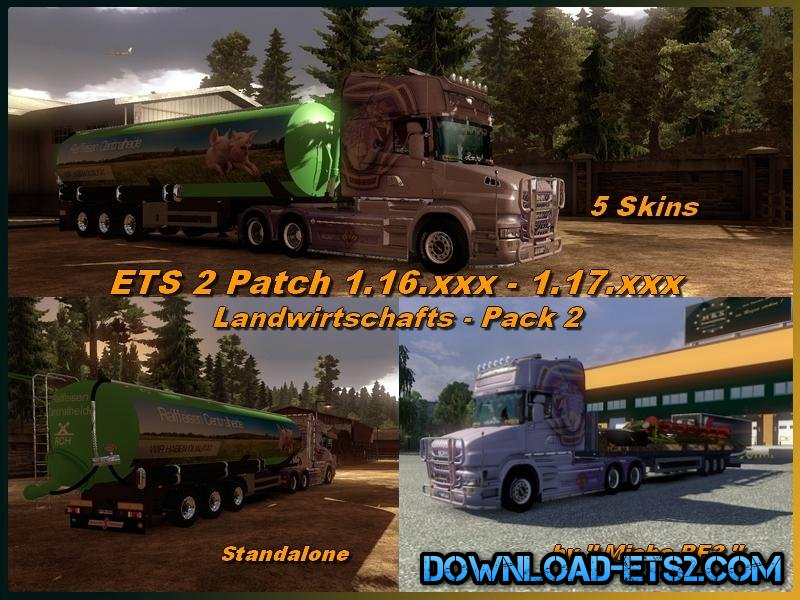 AGRICULTURE PACK 2 v1 for ETS2