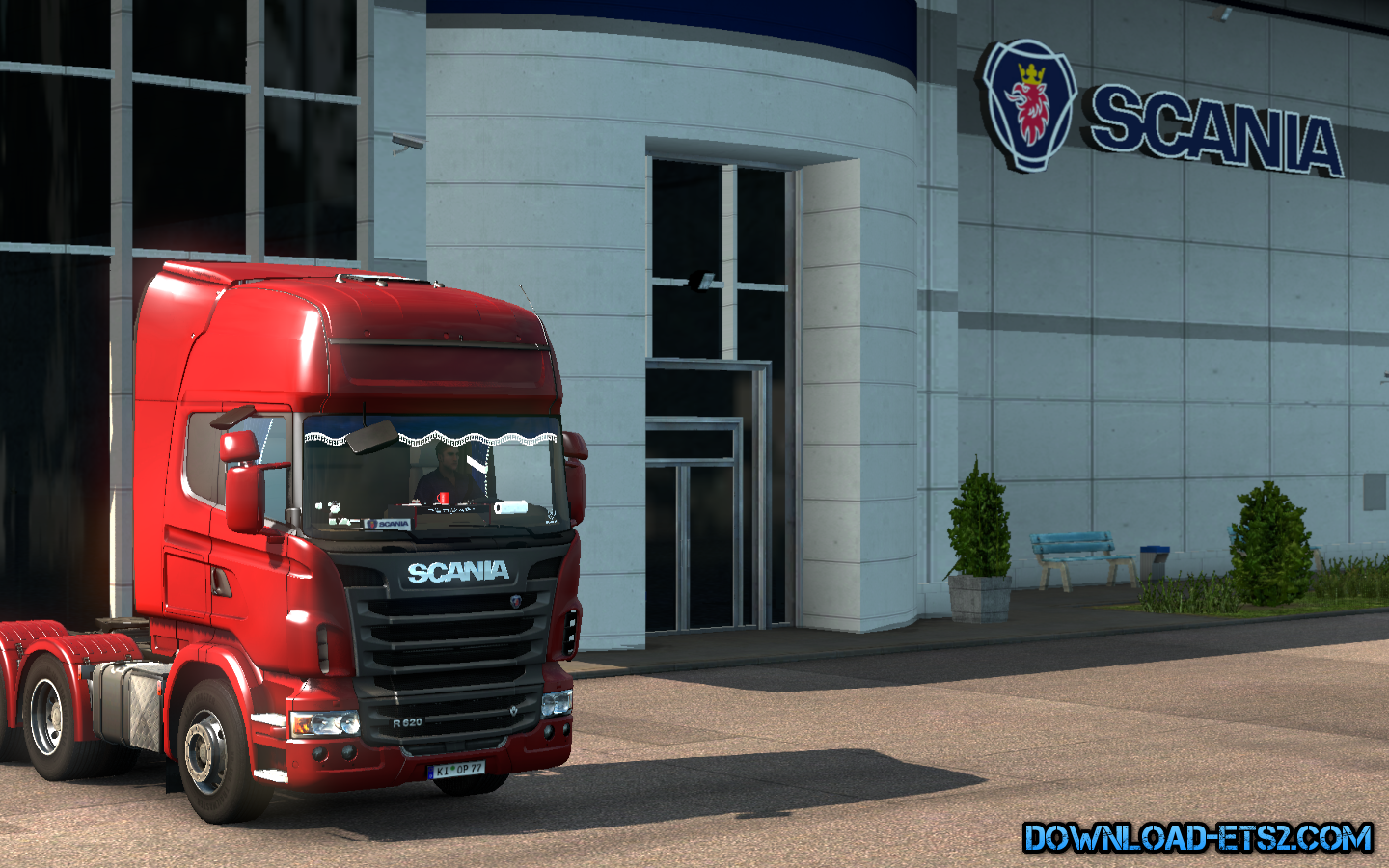Scania R + Interior v3 by .SrqN.