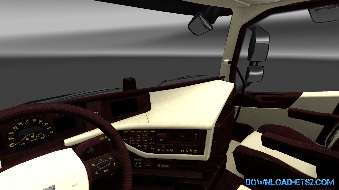 Volvo FH16 2012 Exclusive Interior Mod