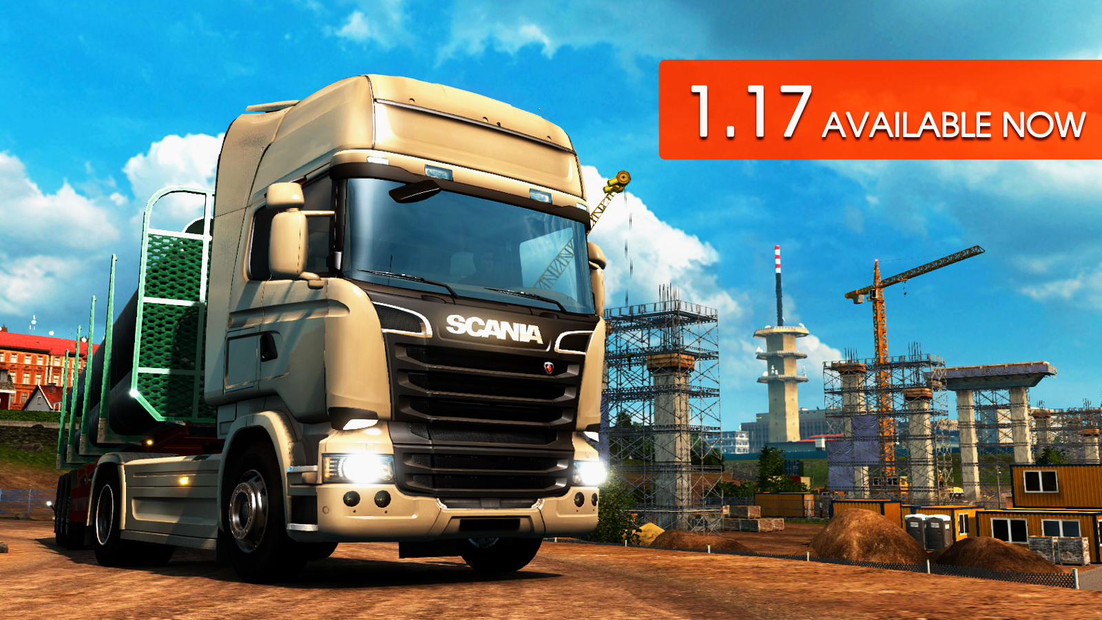 Download Update 1.17 for Euro Truck Simulator 2