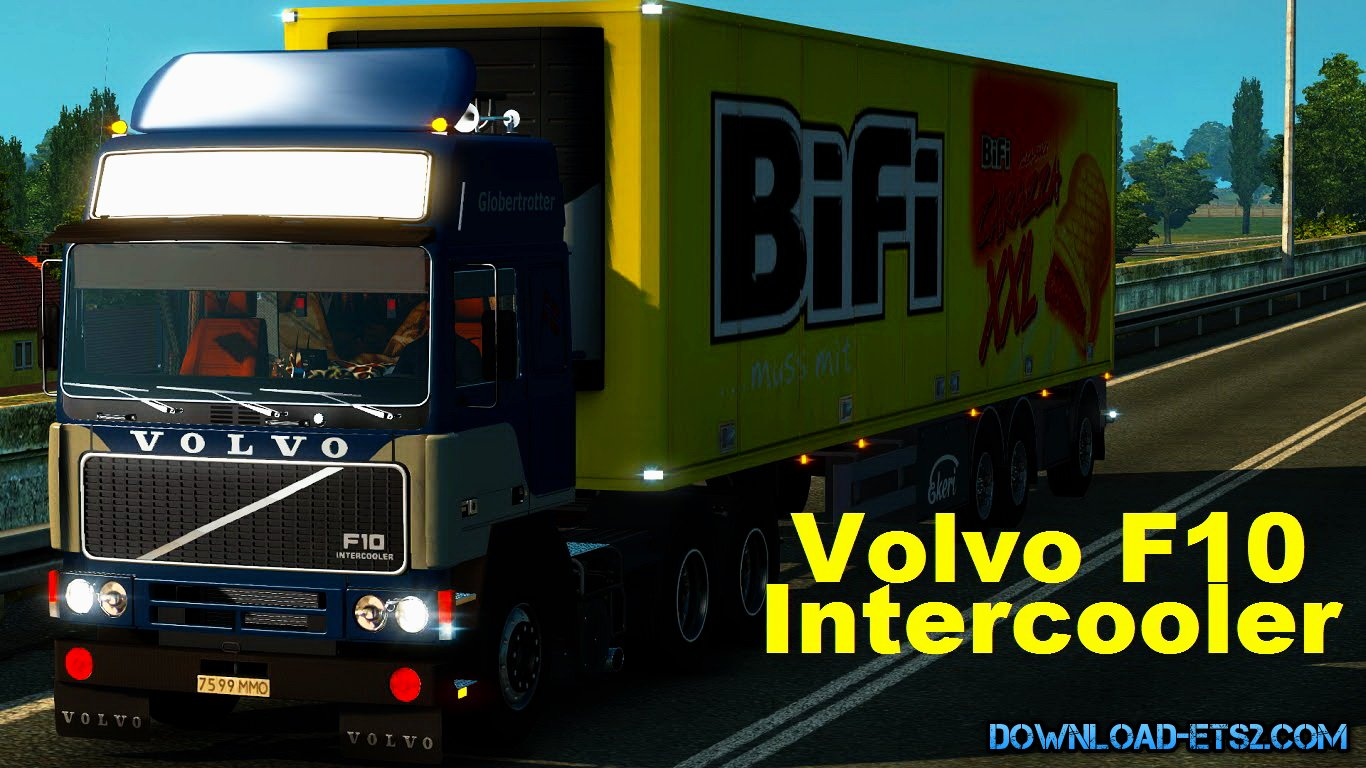Volvo F10 Intercooler + Interior (v1.17.x)