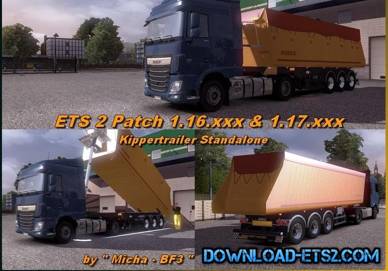 STANDALONE TIPPER TRAILER BODEX