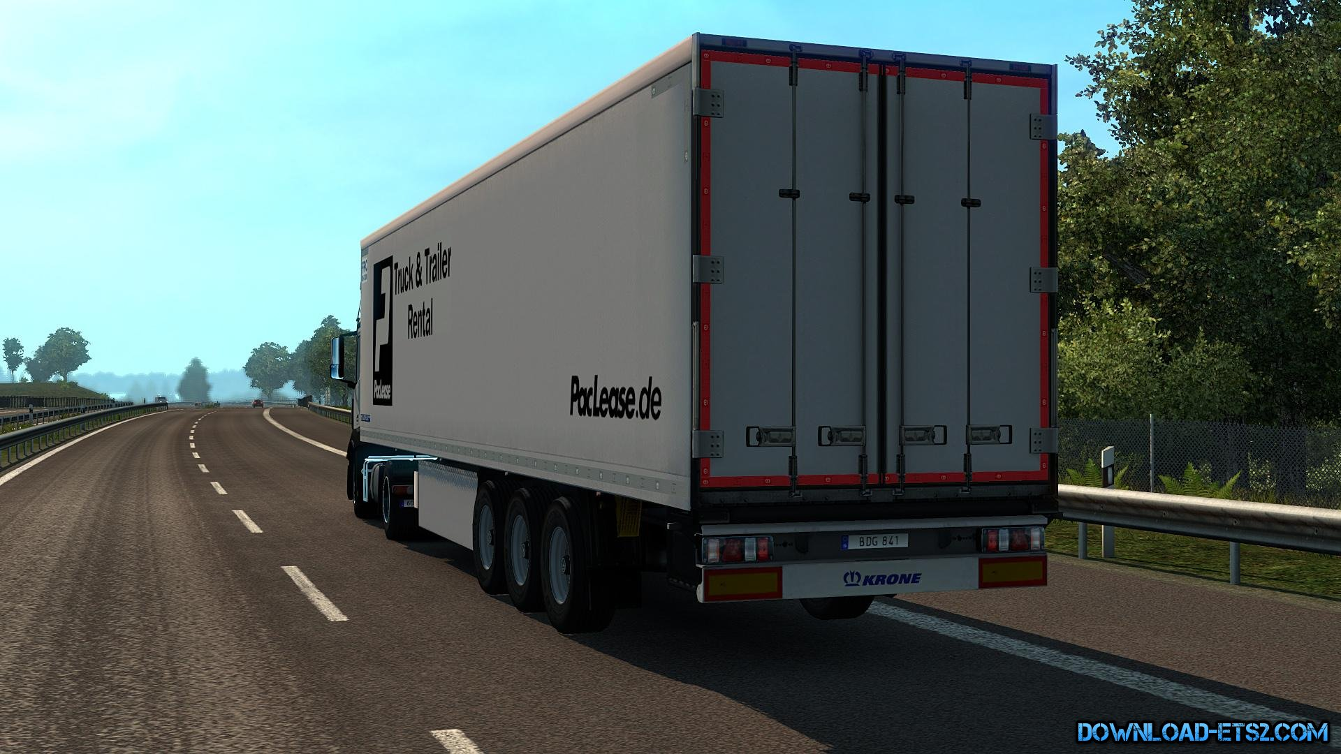 Krone Cool Liner Trailer by Stewowe